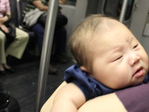 Baby's First Subway Ride - Unhappy Arya