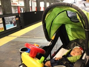 Baby's First Subway Ride