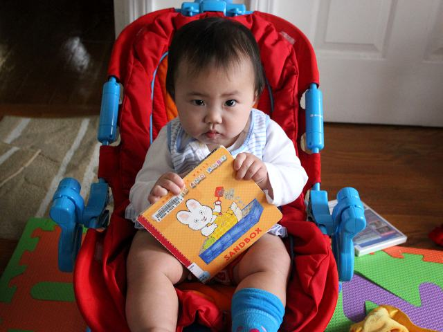 Baby Max and Ruby Sandbox by Rosemary Wells