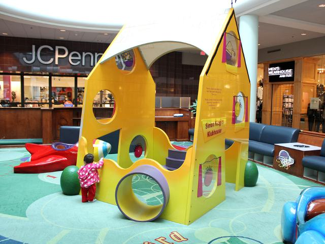Baby Play Area at the Shopping Mall