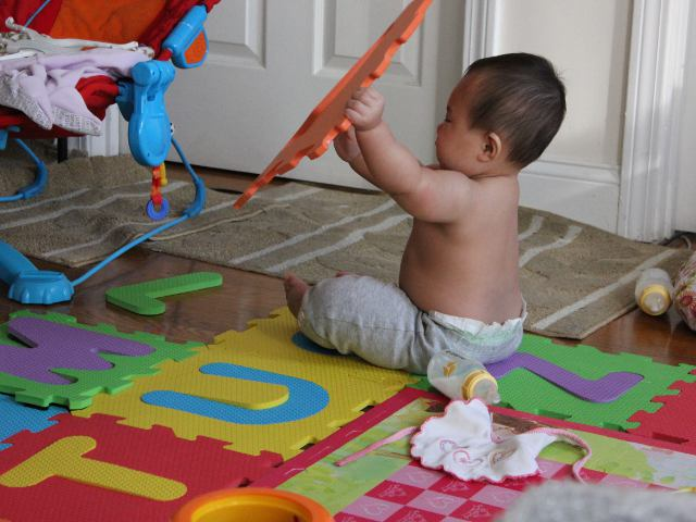 Baby Taking Apart Alphabet Mat