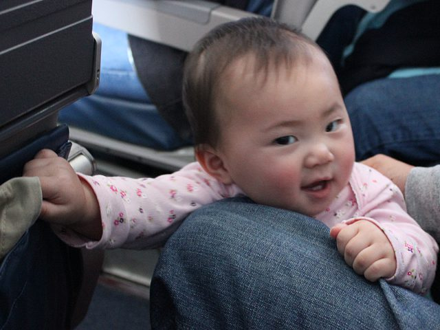 Baby's First Airplane Ride