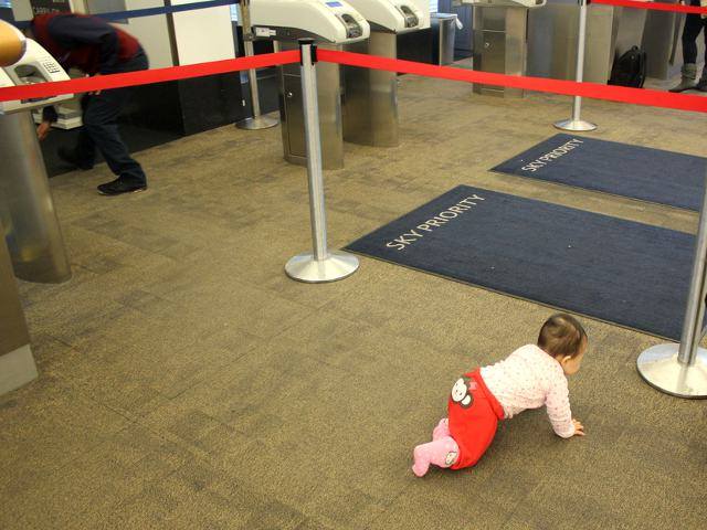 Baby's First Time at the Airport