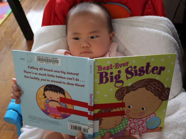 Best Ever Big Sister by Karen Katz