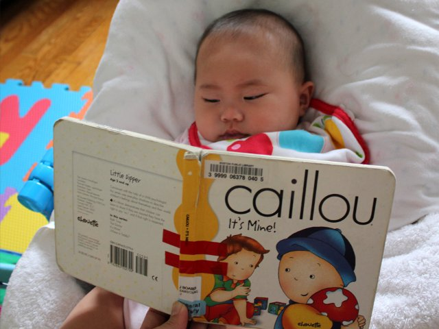 Caillou It's Mine by Joceline Sanschagrin