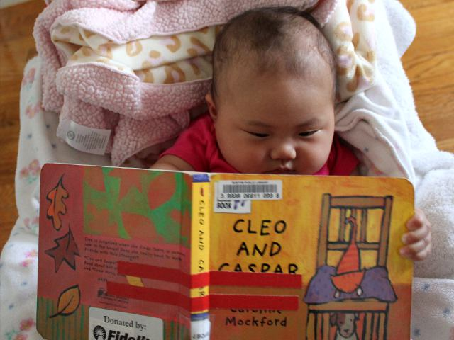 Cleo and Caspar by Caroline Mockford