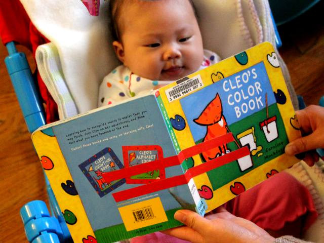 Cleo's Color Book by Caroline Mockford - Baby Book Review