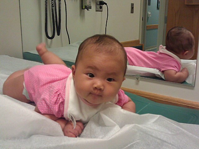 Four Month Check-up at Pediatrician