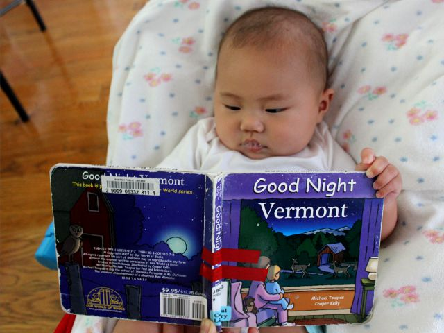 Good Night Vermont by Michael Tougias and Cooper Kelly