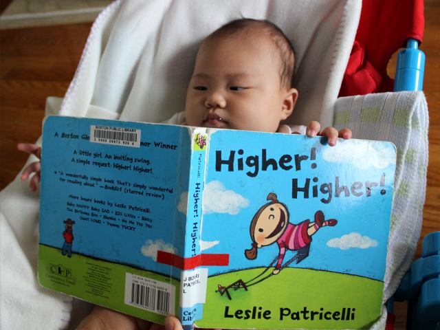 Higher Higher by Leslie Patricelli