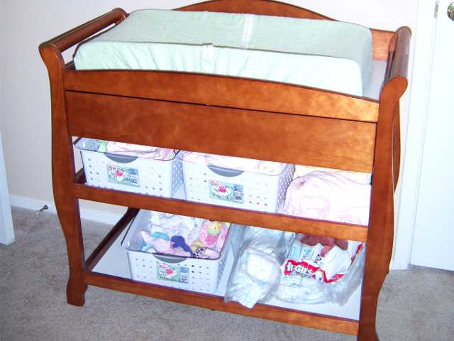 diaper change table 1