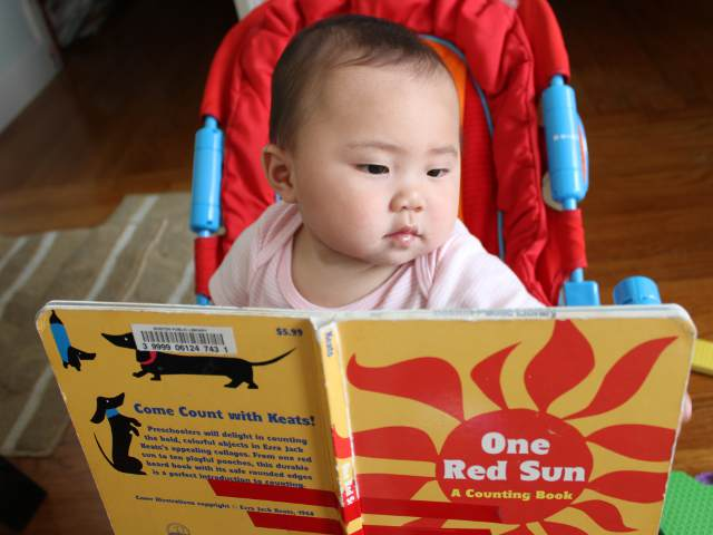 One Red Sun by Ezra Jack Keats