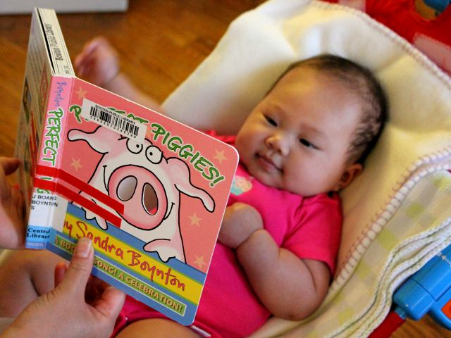 Perfect Piggies by Sandra Boynton - Baby Book Review