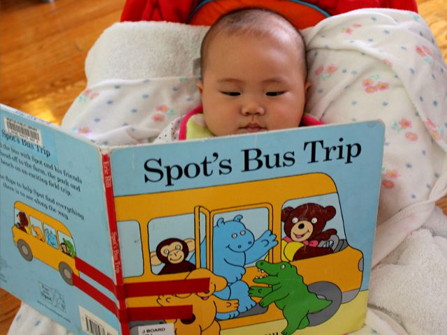 Spot's Bus Trip by Eric Hill