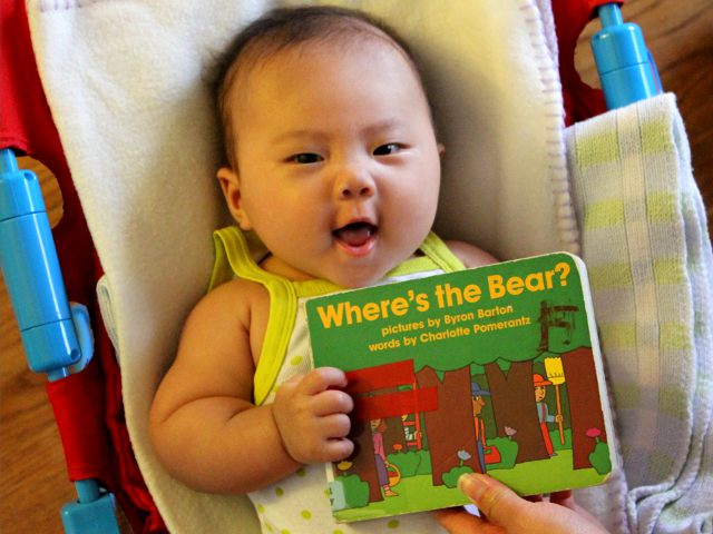 Where's the Bear by Charlotte Pomerantz